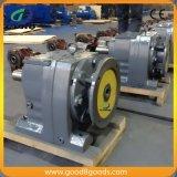 Промышленный электрический двигатель с коробкой передач