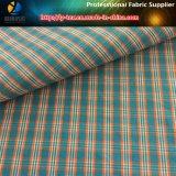 Polyester Coolmax Tissu de Shirting teint en fil en Ristop (YD1110)