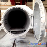 autoclave elétrica certificada Ce da fibra do carbono do aquecimento de 2500X6000mm (SN-CGF2560)