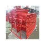 Rahmen Scafffolding des Maurer-Strichleiter-Farbanstrich-Q235 oder Q345