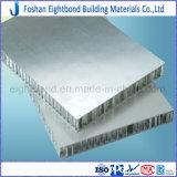 El panel de aluminio expuesto del panal sin el doblez del borde al panel de piedra compuesto