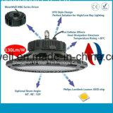 공장 갱도 상점가 이용된 UFO LED 높은 만 빛 IP65 및 Samsung LED 칩