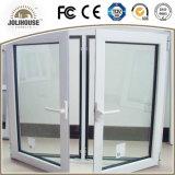 Kundenspezifisches UPVC Flügelfenster Windowss der gute Qualitätsfertigung