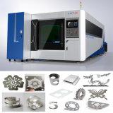 500W Wuhan Edelstahl-Platten-Faser-Laser-Ausschnitt-Maschine