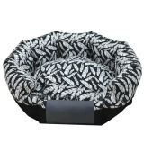 Het de cirkel Bank van het Huisdier/Bed van het Huis van de Hond van het Bed van de Kat voor Huisdier (KA0080)
