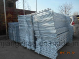 Qualitäts-völlig galvanisierte Barrikade, die mit flachen Füßen ficht