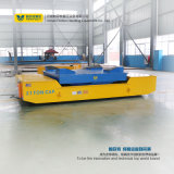 Carretilla de la transferencia de la placa de acero con el dispositivo de VFD para el cargo pesado