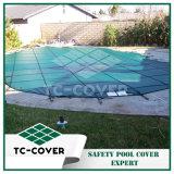 Tampa de segurança durável da piscina para alguma associação