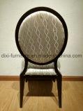 Hauptesszimmer-Möbel-runde Rückseiten-Metallhotel-Abendessen-Stuhl