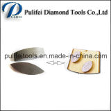 Ferramentas abrasivas que mmoem o segmento concreto do assoalho do terraço para a ligação do metal