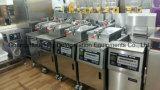 Hohe Leistungsfähigkeits-Edelstahl-elektrische Druck-Bratpfanne