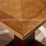 Jogo da mobília do restaurante da madeira com cadeira estofada e a tabela contínua do melhoramento (SP-CT784)