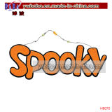Outdoor Sign Party Signs Decorações Best Halloween Party Supply (H8071)