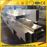 Fabricant 6063 Aluminum Extrusion Profiles Aluminium Rideau mur pour la décoration