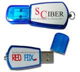 Alta calidad de encargo disco flash USB con el logotipo de impresión (100)