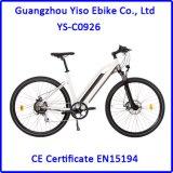 a melhor bicicleta 350W elétrica para a senhora com a bateria de íon de lítio de Hided