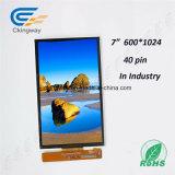 """7 """" 600 (RGB) X1024はTranspatent LCDの表示に点を打つ"""