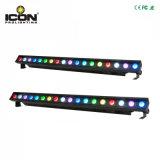 Nuovo indicatore luminoso lungo della barra della lavata di 18X3w 3in1 LED per dell'interno