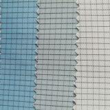 ESD 의복을%s ESD 직물 청정실 폴리에스테 직물