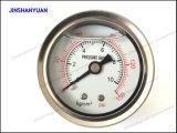 Og-001ステンレス鋼の圧力計か液体によって満たされる圧力計