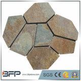 Ardósia que ajardina ardósia de pedra a pedra de pavimentação engrenada