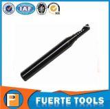 Solo 1 molino de extremo modificado para requisitos particulares de la flauta para la herramienta de la carpintería