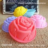 FDA nam de Vormen van de Cake van het Silicone van de Rang Shapefood voor het Maken van Wafels toe