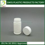 бутылка микстуры белого цвета PE 60ml пластичная