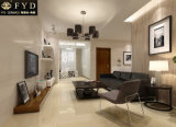 アイボリーの白い磨かれた磁器の床の壁のタイル(FS6000)