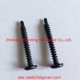 C1022 Pan Head Harden noir Zingué Self Drilling Vis