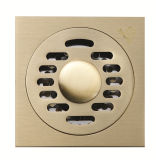 Yz9028d quadratischer Edelstahl-Badezimmer-Befestigungsteil-Fußboden-Abfluss