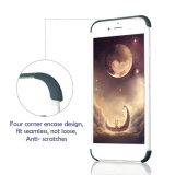 Superior vendiendo la PC ultra fina caja protectora del teléfono celular de la cubierta completa de 360 grados para el iPhone 6plus con el protector libre del vidrio Tempered