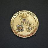 Departamento militar de los E.E.U.U. del producto de la moneda del desafío de la marina