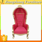 Antiker Entwurfs-hoch Rückseiten-König Chair für Wohnzimmer-Freizeit sitzt Jc-1021 vor