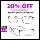 Frame ótico do Eyeglass de Eyewear dos vidros do metal da alta qualidade