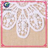 Crochet Bulk Floral Línea Blanca Collar Lace Collar