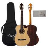 Aiersiの工場からの高い等級のCutwayの古典的なギター