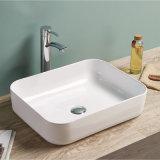 Il lavabo di ceramica della stanza da bagno disegno sottile del bordo di nuovo