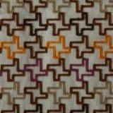 Ammortizzatore della tessile del poliestere e tessuto ricamati del cuscino
