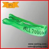 imbracatura rotonda flessibile del poliestere dell'Occhio-Occhio 5t (può essere personalizzato)