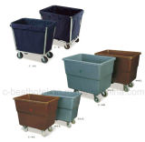 Carros da empregada doméstica da limpeza das tarefas domésticas do hotel de Partu