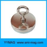 Gancho de leva del perno de argolla del imán del crisol del neodimio (12 lbs-361 libras)