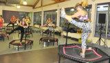 Trampolín comercial de salto de la gimnasia de la base del mini amortiguador auxiliar de 50 pulgadas con la barra de la maneta para la venta al por mayor