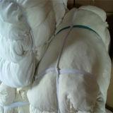 La prime a récupéré le drap blanc Rags de coupure en coût d'usine compétitif