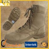 Gaines de désert militaires bon marché de delta de chaussure de sûreté à suède de cuir confortable de vache