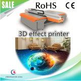 3D 시각 효과 UV 평상형 트레일러 인쇄 기계