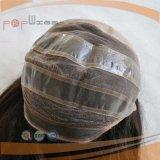 Form-Menschenhaar-Hand gebundene volle Spitze-Silk Spitzenperücke