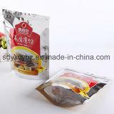 100% Rohstoff-Fastfood- Reißverschluss-verpackenbeutel-Reißverschluss-Beutel