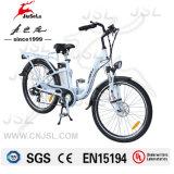 """26 """" weißes elektrisches Fahrrad CER des Aluminiumlegierung-Rahmen-36V (JSL038XB-2)"""