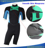 Men Smooth Skin Neoprene Super Stretch Fabric Shorty Wetsuit